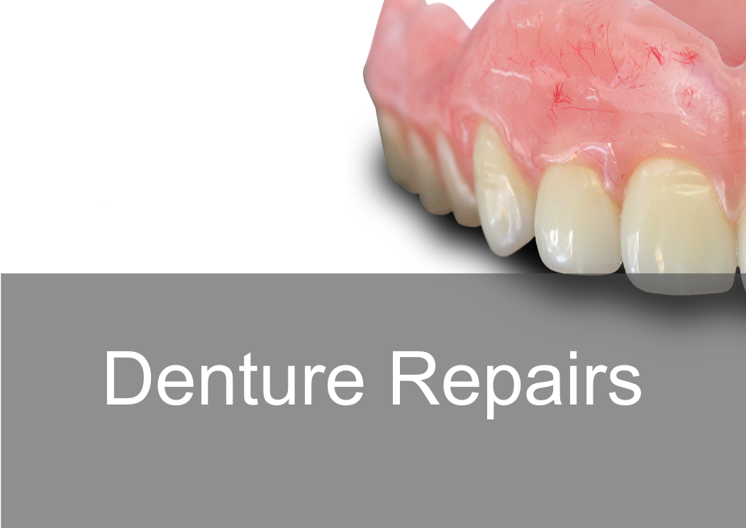 Denture repairs, same day in London.